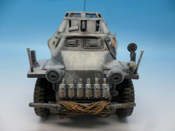 King and Country Battle of the Bulge 222 Armoured Car BBG054 130 (4)