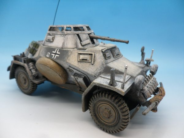 King and Country Battle of the Bulge 222 Armoured Car BBG054 130 (5)