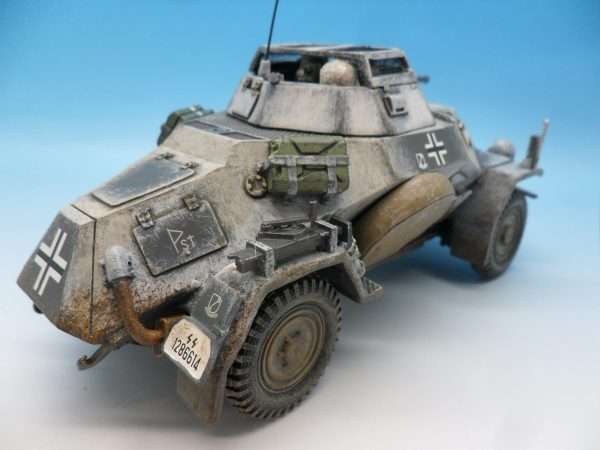 King and Country Battle of the Bulge 222 Armoured Car BBG054 130 (6)