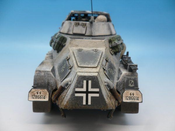 King and Country Battle of the Bulge 222 Armoured Car BBG054 130 (7)