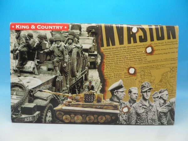 King and Country WW2 German Forces Kettenrad Halftrack Motorcycle WSS81 130 (1)