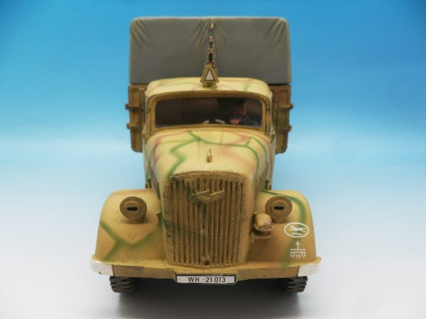 King and Country WW2 German Forces Opel Blitz Truck Normandy Camouflage WSS90 130 (10)