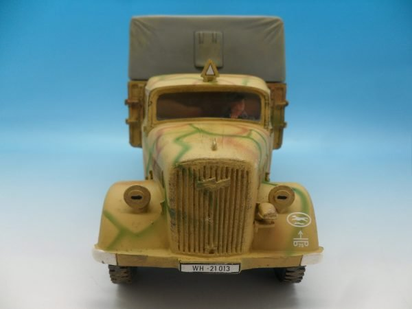 King and Country WW2 German Forces Opel Blitz Truck Normandy Camouflage WSS90 130 (3)