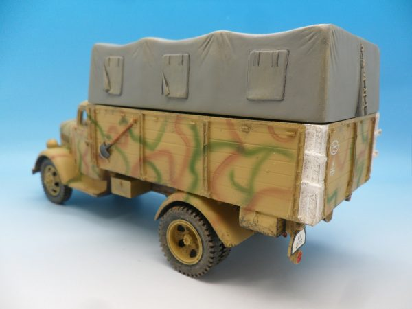 King and Country WW2 German Forces Opel Blitz Truck Normandy Camouflage WSS90 130 (6)