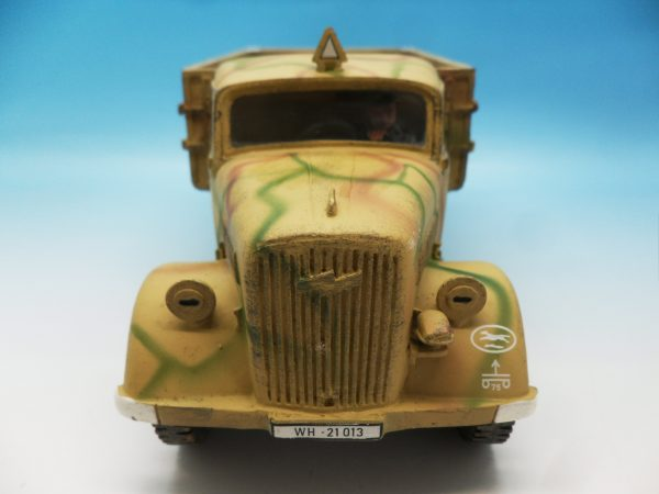 King and Country WW2 German Forces Opel Blitz Truck Normandy Camouflage WSS90 130 (7)