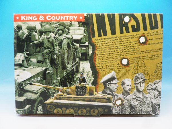 King and Country WW2 German Forces Road Block 2 Dismounted Eldgendarmes and motorcycle WSS88 130 (8)