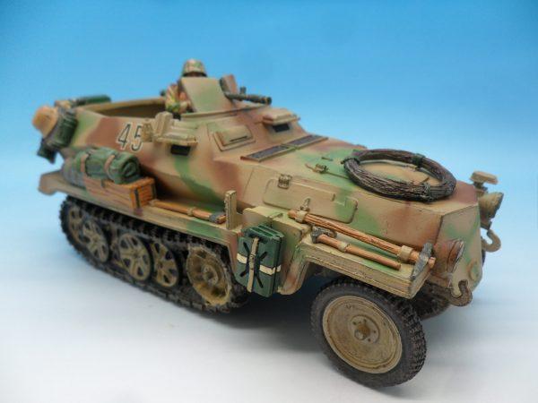 King and Country WW2 German Forces Schutzenpanzerwagen WSS121130 (1)