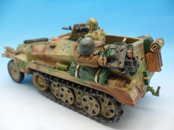 King and Country WW2 German Forces Schutzenpanzerwagen WSS121130 (3)