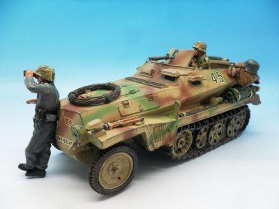 King and Country WW2 German Forces Schutzenpanzerwagen WSS121130 (8)