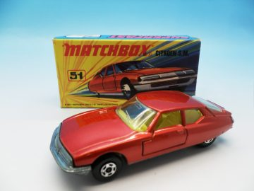 MATCHBOX SUPERFAST CITROEN SM 51