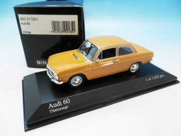 MINICHAMPS AUDI 60 ORANGE 400 011301 1_43