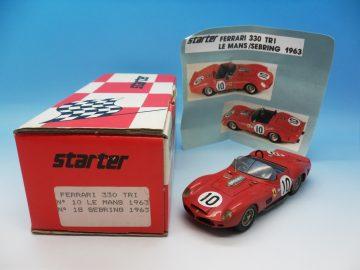 STARTER KIT BUILT FERRARI 330 TRI LE MANS 1963 1_43