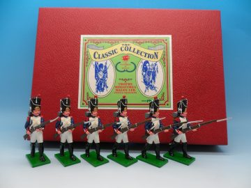 TROPHY MINIATURES WALES LTD NAPOLEONIC WARS 1ST GRENADIERS OF THE GUARD WA18V